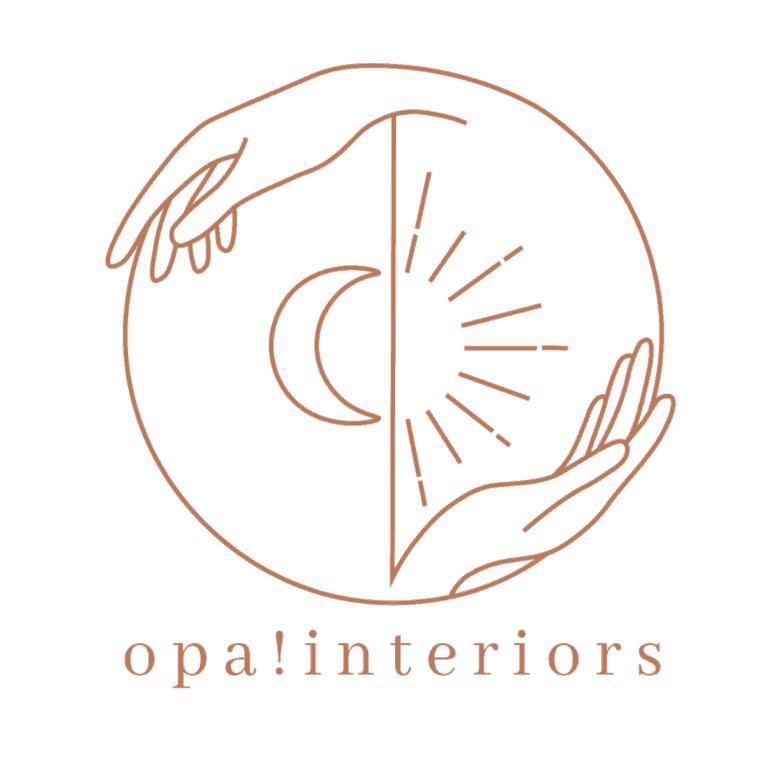 Logo Opa! interiors