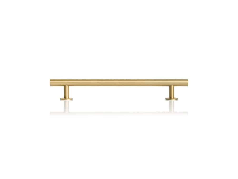 Mosiężny, złoty uchwyt meblowy Lidia XL